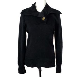 Ralph Lauren Sweaters - Lauren Ralph Lauren Black Cowl Neck Sweater